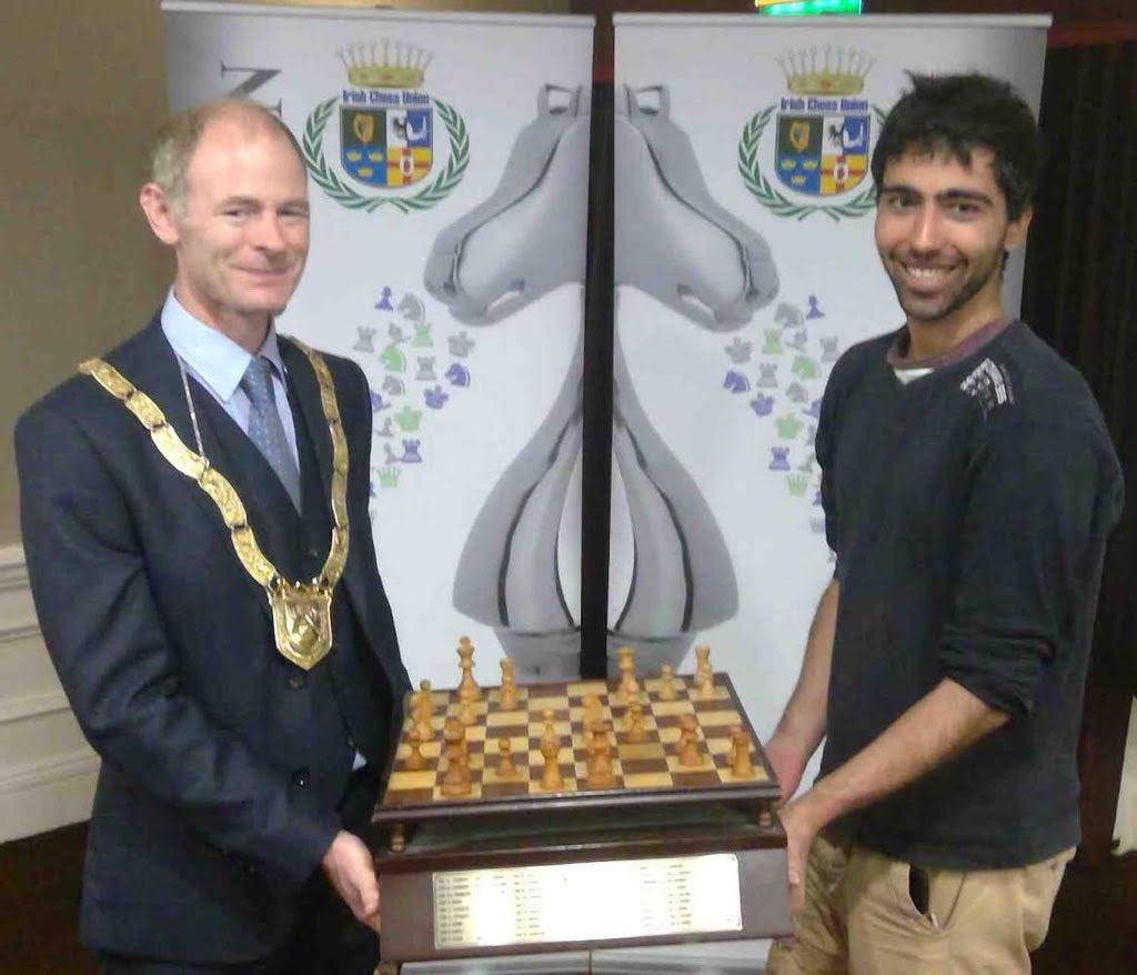 Lopez wins Blackthorne Irish Chess Championship